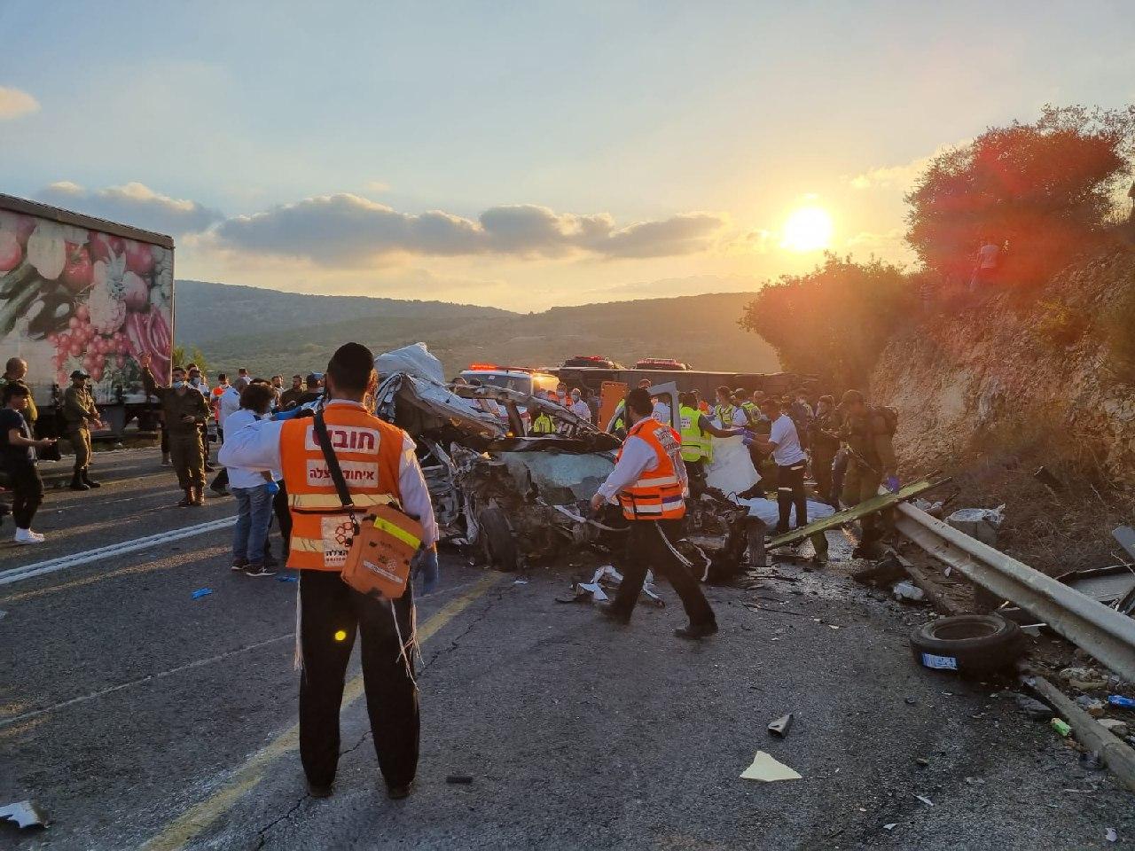 авария на шоссе 89