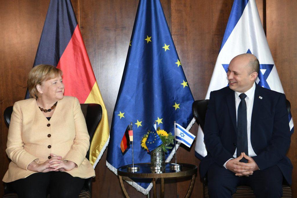 Меркель в Израиле