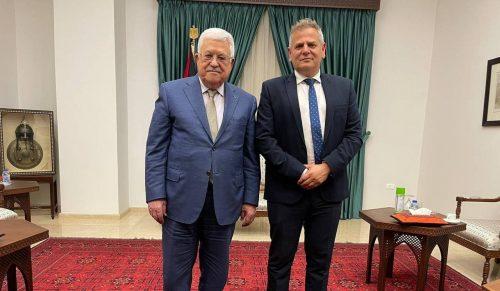 Ницан Горовиц и Абу-Мазен